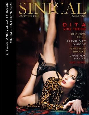 Sinical 6 Year Anniversary Issue - Dita Von Teese