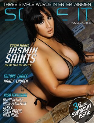 SO BE IT MAGAZINE 3RD ANNUAL SWIMSUIT ISSUE (JASMIN SAINTS /MAYNA)