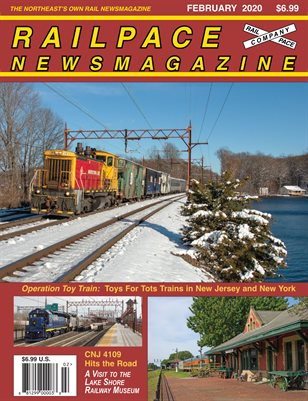 February 2020 Railpace Newsmagazine
