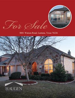 Haugen Properties -  8081 Watson Road, Lantana, Texas76226