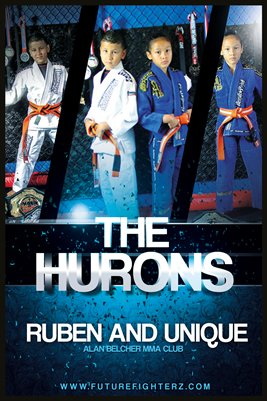The Hurons Blue Shade Poster