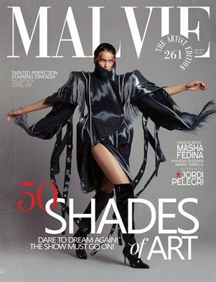 MALVIE Magazine The Artist Edition Vol 261 July 2021