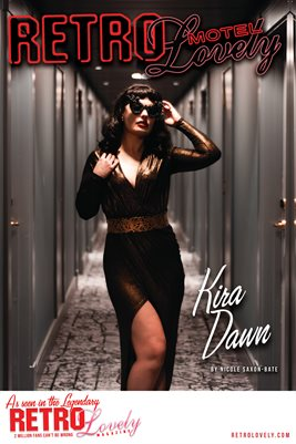 MOTEL Special Edition Kira Dawn Cover Poster
