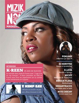#2 Mizik Nou Magazine - Avril 2017