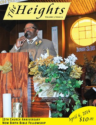 Volume 5 Issue 9 - 15th Church Anniversary New Birth Bible Fellowship