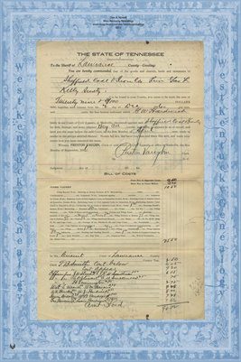 No.2495, 1916, Lawrence County, Tennessee in the court of civil appeals G.W. Hardwick vs. Sheffield Coal & Iron Co.