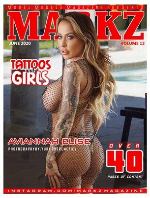 MARKZ MAGAZINE #12 (AVIANNAH)