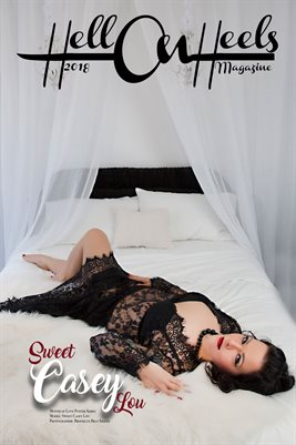 2018 Hell on Heels Magazine Month of Love poster series Sweet Casey Lou