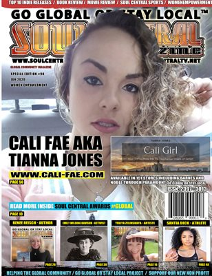 Soul Central Magazine - Double Special Edition 98 #CaliFae #WE