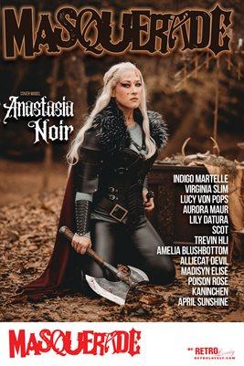 Masquerade No.3 – Anastasia Noir Cover Poster