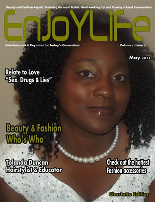 Enjoy Life Magazine Vol. 12 Issue 2 Tolanda Duncan