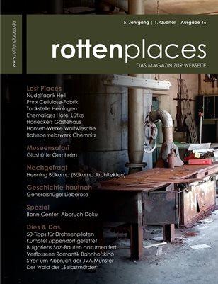rottenplaces Magazin 1/2017