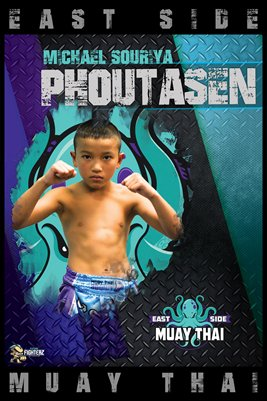 Michael Phoutasen East Side Poster