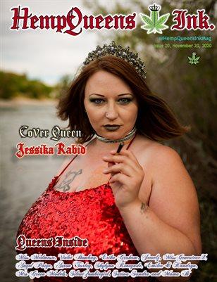 HempQueens Ink. Magazine ~ Issue 20 ~ Jessika Rabid