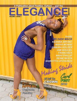 Elegance in Focus Magazine:Vol. 01 Issue 01