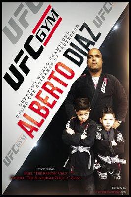 Alberto Diaz Coach Poster/UFC GYM Poster