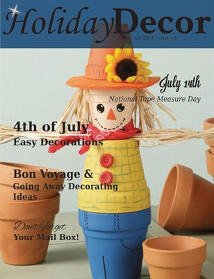 Holiday Decor Magazine - July 2017