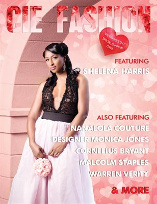 CIE Fashion Magazine NanaLola Couture Valentine's Day Special Edition Issue
