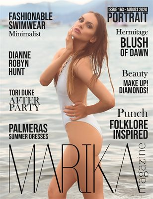 MARIKA MAGAZINE PORTRAIT (August - issue 163)