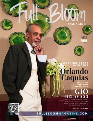 Full Bloom Magazine Edition 16 Orlando Caquias Cover