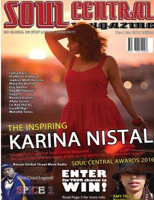 Soul Central Magazine December Editon 2015