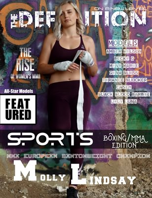 The Definition: Boxing/MMA edition Molly Lindsay Cover
