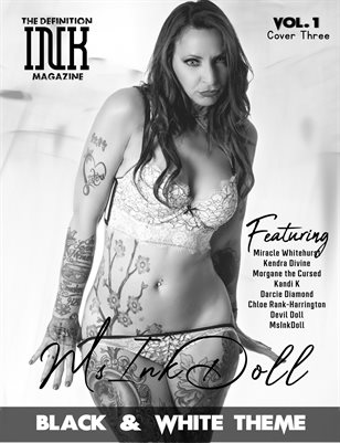 TDM INK MsInkDoll in Black&White theme Vol.1 Cover3