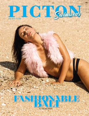 Picton Magazine SEPTEMBER  2019 N268 Swimwear Cover 1
