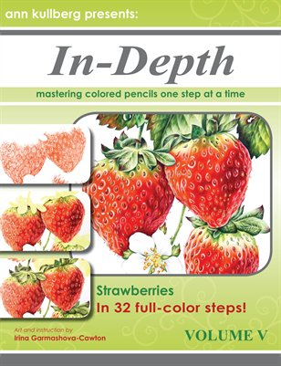 Colored Pencil Strawberries in 32 Steps!