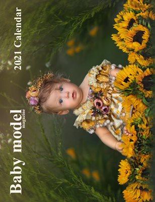 Baby Model Magazine 2021 Annual Calendar