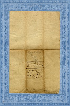 (PAGES 1-2) 1836 Will of Jesse H. Rice, Bath County, Kentucky