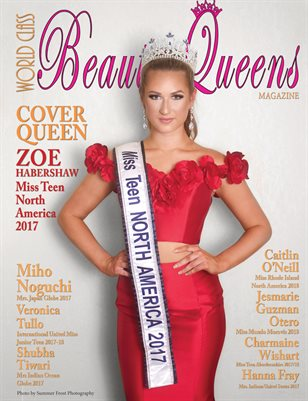 World Class Beauty Queens Magazine issue 55 with Zoe Habershaw