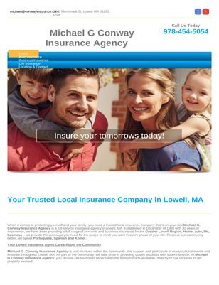 Auto insurance in Lowell
