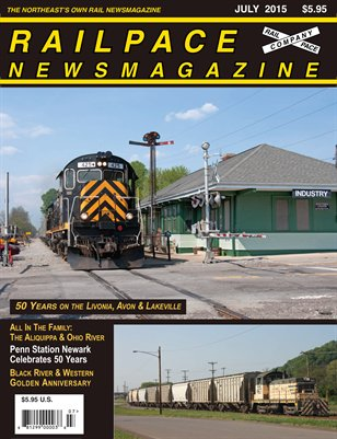 July 2015 Railpace Newsmagazine
