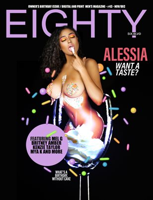 owners birthday issue: Alessia cover