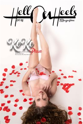 2018 Hell on Heels Magazine Month of love poster series Keke Phan