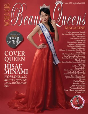 World Class Beauty Queens Magazine Issue 122 with Hisae Minami