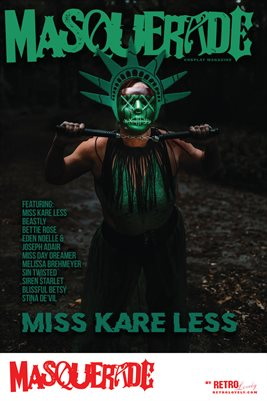 Masquerade No.12 – Miss Kare Less Cover Poster