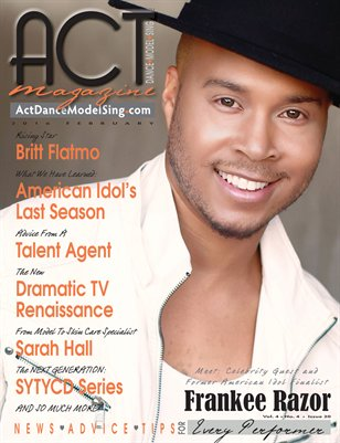 ACT Dance Model Sing Magazine Issue 20