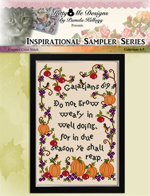 Do Not Grow Weary Cross Stitch Pattern