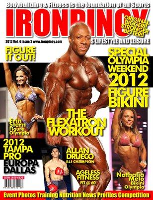 IRONPINOY MAGAZINE OLYMPIA 2012