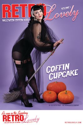 Coffin Cupcake Cover Poster
