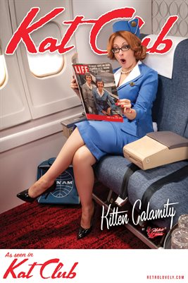 Kat Club No.44 – Kitten Calamity Cover Poster