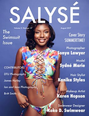 SALYSÉ Magazine | Vol 3:No 37 | August 2017 |