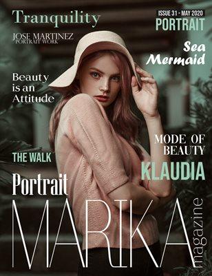 MARIKA MAGAZINE PORTRAIT (May - issue 31)