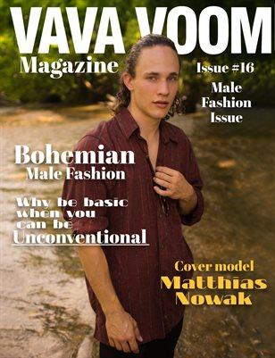 VAVA VOOM issue #16 male Fashion