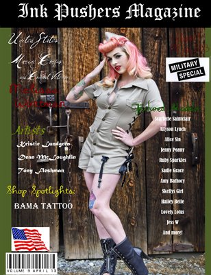 Ink Pushers Magazine Issue #9 Military Edition