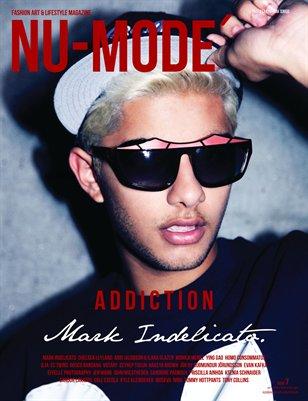 "Nu-Mode´Autumn/Winter Issue 7 ""Addiction"" Mark Indelicato"