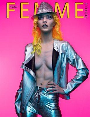 Femme Rebelle Magazine February 2021 BOOK 2 - Stoke Parker Cover