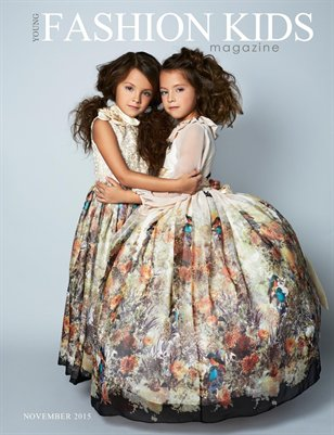 Young Fashion Kids Magazine | NOVEMBER 2015 {COVER OPTION1}